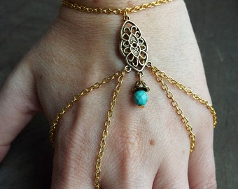 Bohemian Gold Tone  Bracelet