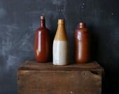 Vintage Ceramic Wine or Beer Bottle From Nowvintage on Etsy
