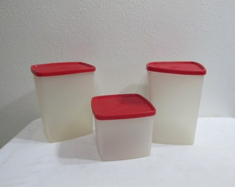 Tupperware Freezer Boxes set of 3 Containers