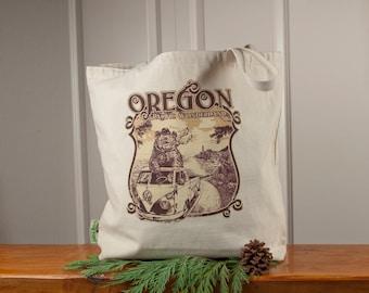 Pacific Wonderland Oregon Tote Bag