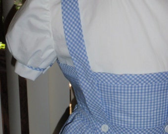 Wizard of Oz Dorothy Costume Dress for Teens Adults