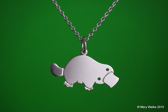 Platypus Necklace