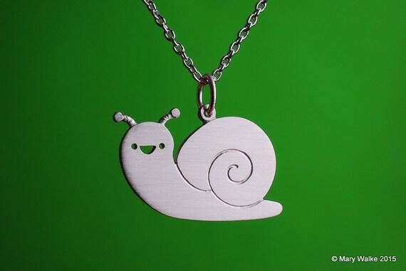 Happy Snail Necklace