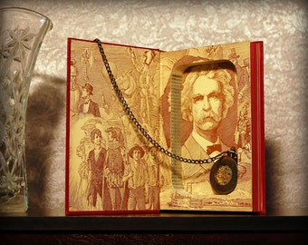 Hollow Book Safe (The Works of Mark Twain: The Adventures of Tom Sawyer)