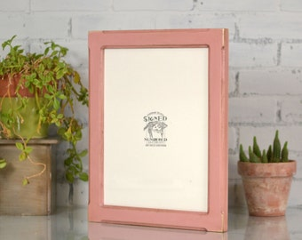 """11x14"""" Picture Frame in 1.5-inch Wide Bones Style with Finish COLOR of YOUR CHOICE - 11x14 Photo Frame"""