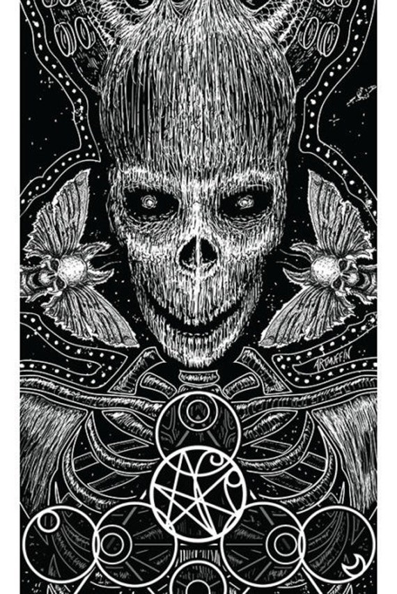 """Internal Constellations-Limited Edition, Signed, Numbered Print-10""""x34"""" Free Shipping"""