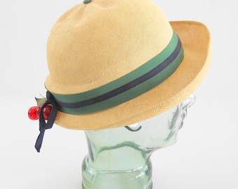 Vintage Straw Hat • Lilly Dache Young Modes