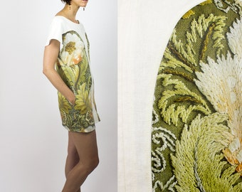 Sale / Kimso floral print dress Size LARGE / Last in stock Handmade womans digital print dress