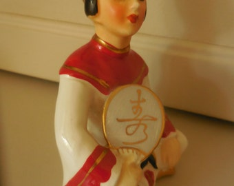 Asian Lady Figurine