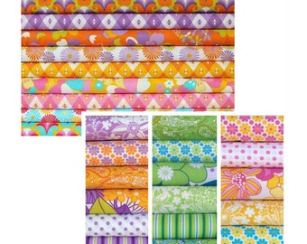 60's Scrapbag and The linen Cupbard Fat Quarter Bundles