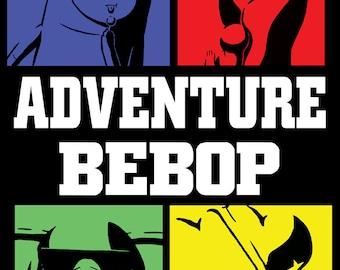 Adventure Bebop art print