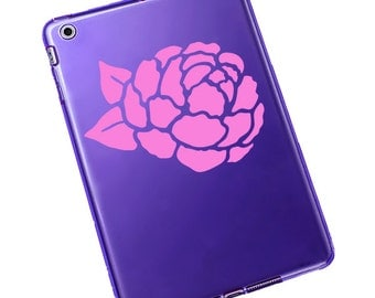 Peony Decal / Peony Laptop Sticker / Peony Window Sticker / Peony Car Decal #820