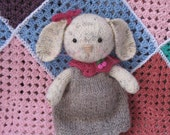 Felicity     A lovely hand knitted bunny doll