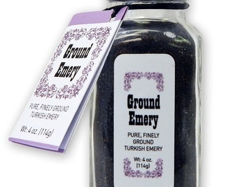 Ground Turkish Emery, 4 oz