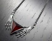Nostradamus Necklace - Garnet