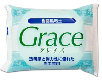 Nisshin Grace Resin Clay 200g from Japan - Fake sweets /  bag accessories