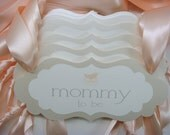 Mommy To Be Chair Sign Vintage Theme Baby Shower Decoration with Vintage Stroller Design Prepared in all of my Colors