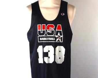Olympic Dream Era Team Practice Jersey by Champion // Great Collectable // Size Large // Champion Jersey