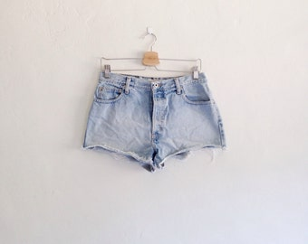 Vintage 1990s Abercrombie and Fitch Destroyed Short Shorts