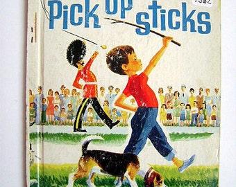 """Little Golden Book First Addition """"Pick Up Sticks"""" #461"""