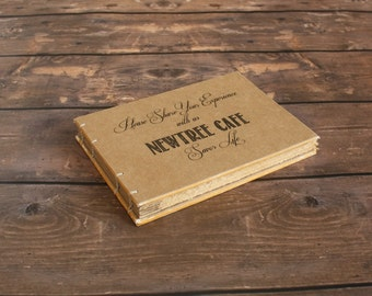 Business Event Book -Rustic Visitor's Book - Create Your Own - Guest Book, Event, Planner