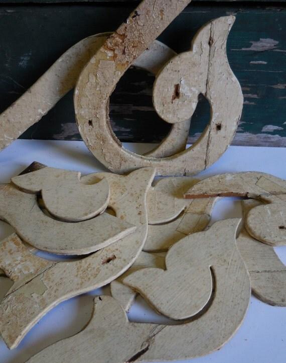 Items Similar To 9 Wood Salvage Pieces Decorative