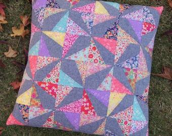 Confetti Cushion PDF Cushion Pattern - Immediate Download