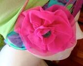 Snap Clip Flower  Clip  choose a colour