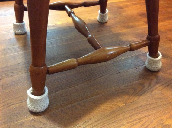 Chair Socks Crochet Chair Leg Cozy Floor Protector Covers