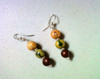 Earthtone Acai Earrings (1423)