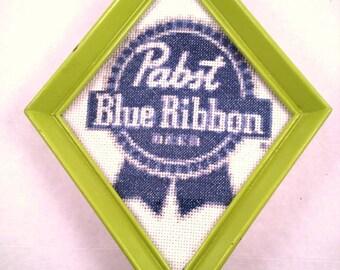 Pabst Blue Ribbon Cross Stitch