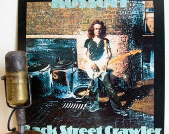 "ON SALE Paul Kossoff (Free) Vinyl Record Album Lp 1970s Bluesy Classic Rock Electric Guitar Hero Rocker ""Back Street Crawler"" (1975 Island r"