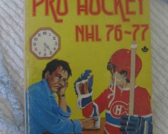 Pro Hockey NHL 76 - 77 by Jim Proudfoot