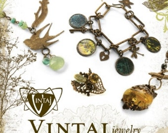 Vintaj Jewelry Technique Book Qty 1