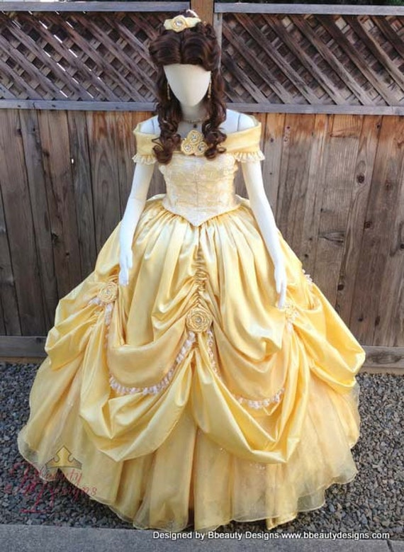 Belle Beauty The Beast 2013 New Park Look Princess Dress