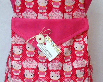 Kids Apron  Hello Kitty Logo