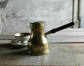 Vintage Brass Chocolate Pot