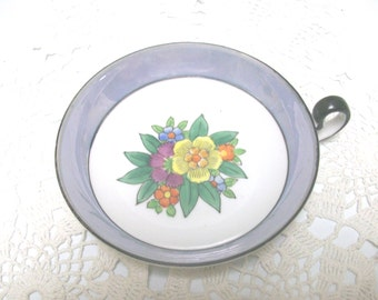 Noritake Floral Bowl with Handle //