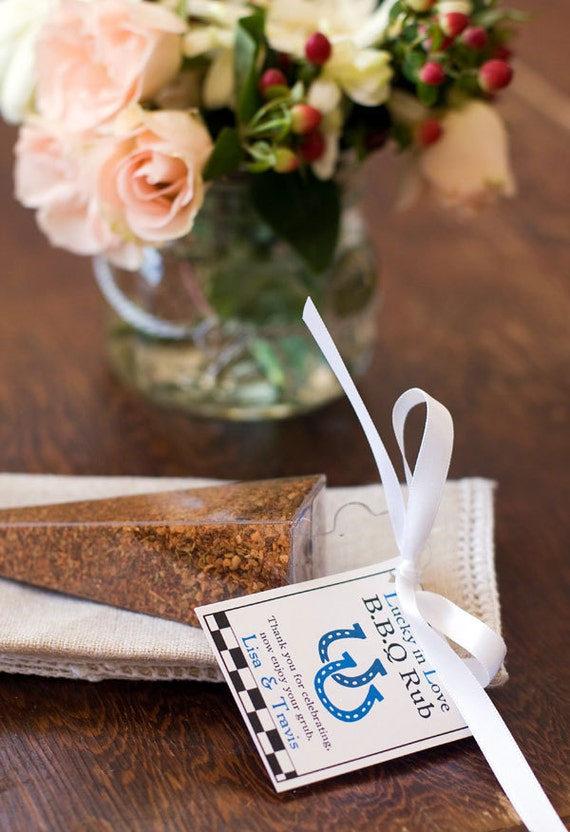 I Do BBQ favors - BBQ dry rubs - country wedding favors, rustic wedding favors, wedding welcome bag, cowboy wedding gifts, guest gifts
