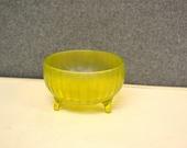 1940s Depression Glass Bowl