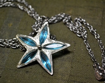 1950s SHP Star Brooch/Pendant on Chain