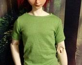 70cm BJD Plain Lime Green Shirt