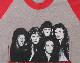 LOVERBOY 1982 TOUR T SHIRT jersey