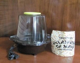 Vintage Toastess Automatic Self-Buttering Corn Popper - Popcorn Maker - NOS - Kitchen - Appliance - Gadget - Movie Night