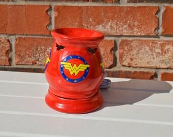 Woman Power Tart Burner , Super Hero, Wonder Woman