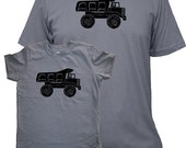 Matching Father Son Shirts, Dump Truck T shirts, Christmas gift, new dad shirt, father daughter, gift for dad, gift for dad son kids, set