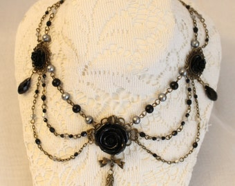 Made to Order: Gothic Rose Necklace