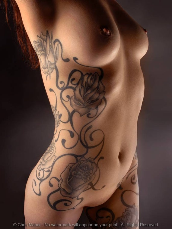 full nudity womens chest and pussy tattoos