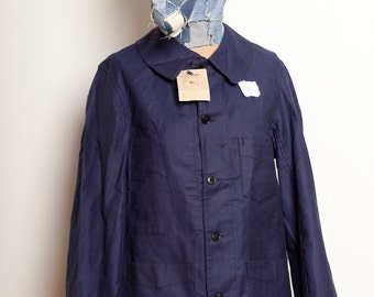 French Worker Jacket Indigo 1920's