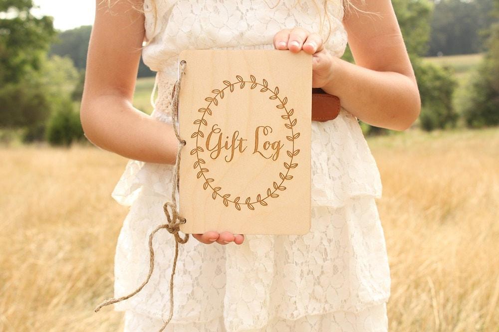 Wedding Gift Log : Gift Log Book Bridal Shower Gift Log Baby Shower Gift Log